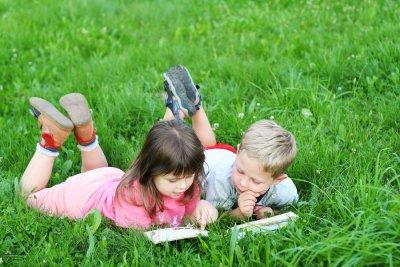 reading - kid